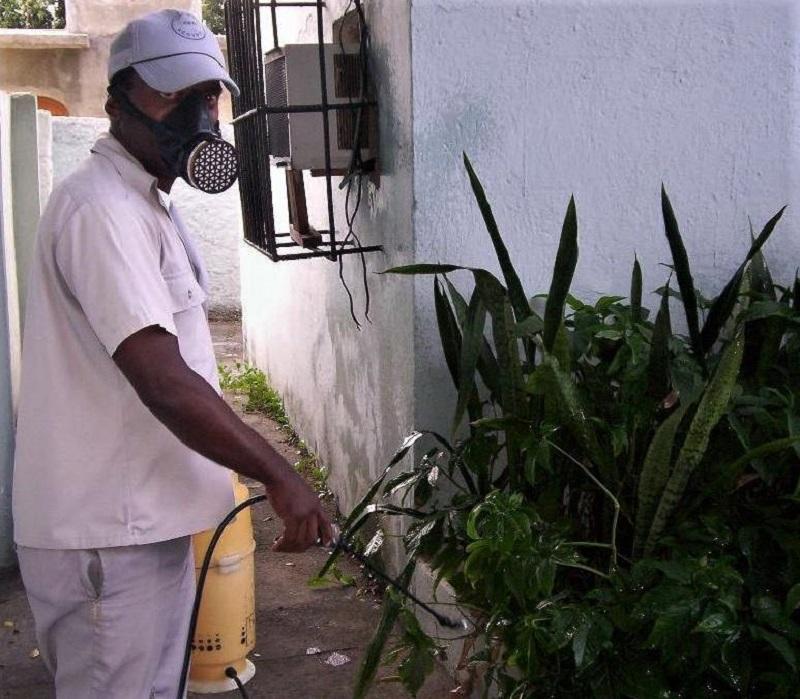 Cienfuegos en campaña contra el mosquito