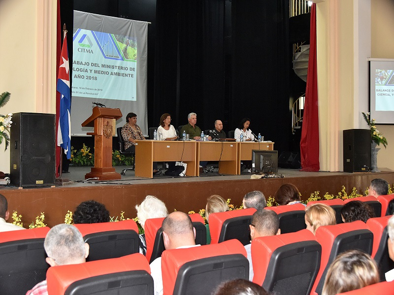 Science and communications in contribution to the development of Cuba