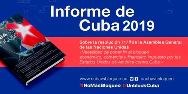 Cuba reitera cada año en la ONU las graves afectaciones que causa el bloqueo en sectores como la Salud y la necesidad de poner fin a esta genocida política.