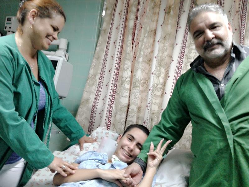 La Salud Pública de Cuba salvó a Danelys