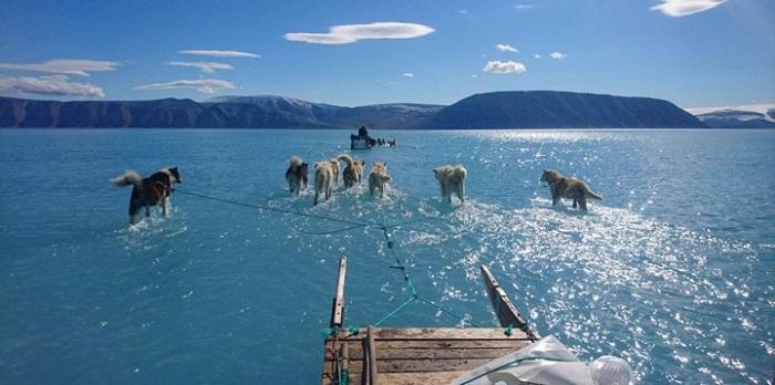 El deshielo en Groenlandia, una situación dramática