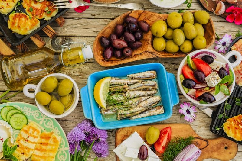 La dieta mediterránea beneficia, dependiendo de los genes
