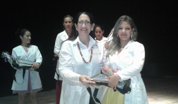 Agradecieron a Fidel hacerse médicos para Cuba y para el mundo