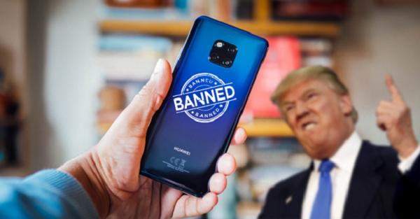 Trump declara emergencia que podría llevar a vetar equipos de Huawei