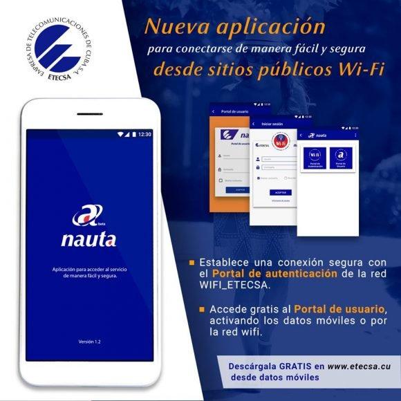 Nueva aplicación de ETECSA ofrece conexión segura desde sitios públicos WiFi
