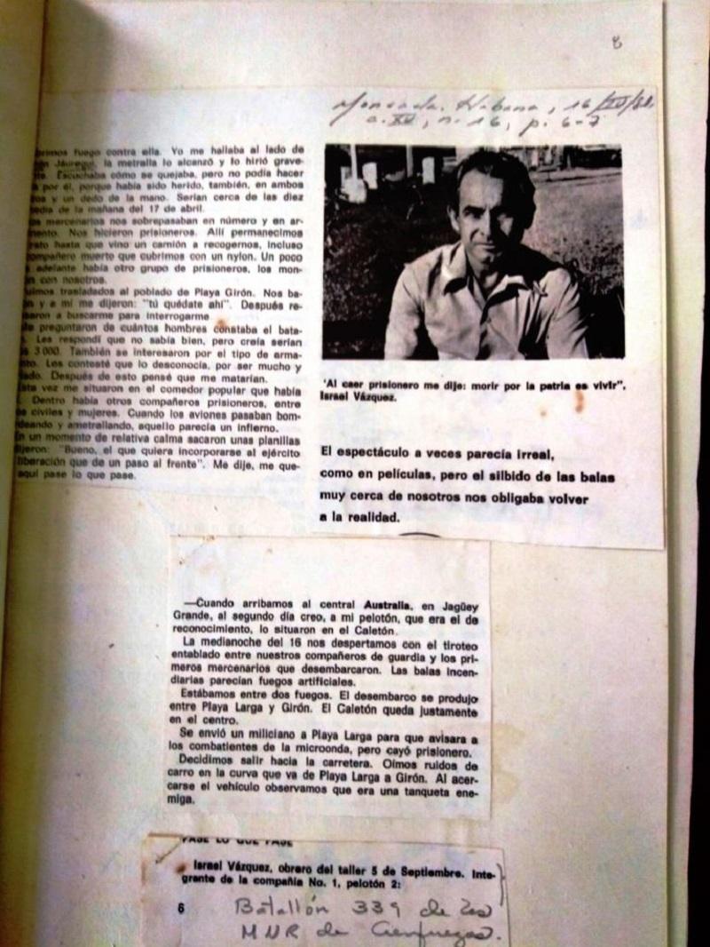 Testimonio publicado en la revista Moncada el 16 de abril de 1988.