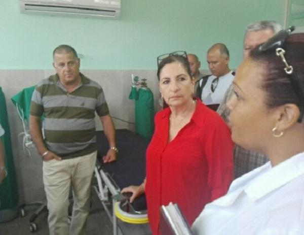 Recorre Roberto Morales Ojeda centros de salud y educación de Artemisa