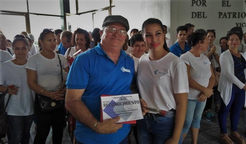 Domingo Alas Rosell, uno de los profesionales de mayores aportes en materia medioambiental.