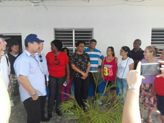 Constata Inés María Chapman acciones para mejoramiento del servicio