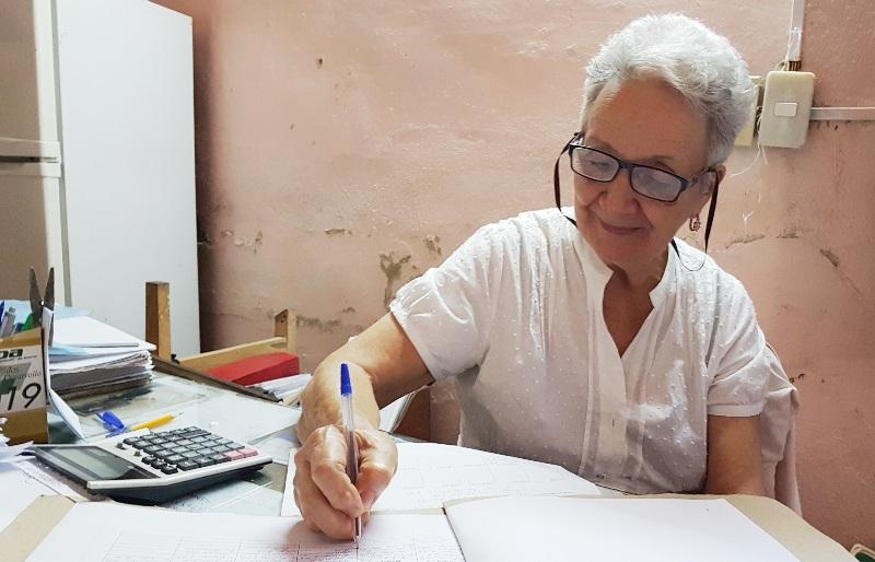Rebeca Andújar trabaja en defensa de los bienes del pueblo