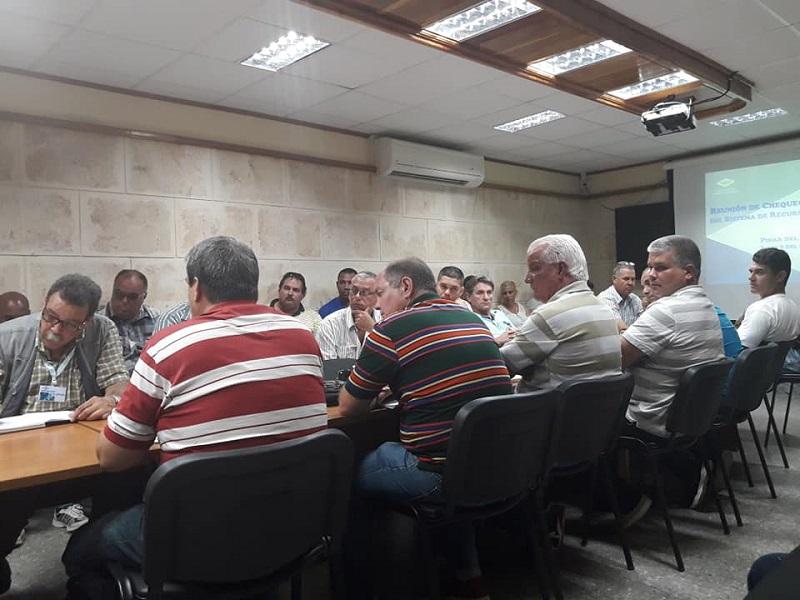 Analizan compleja situación con el abasto de agua en Pinar del Río