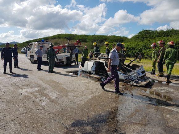 Accidente de tránsito en Villa Clara causa tres muertos
