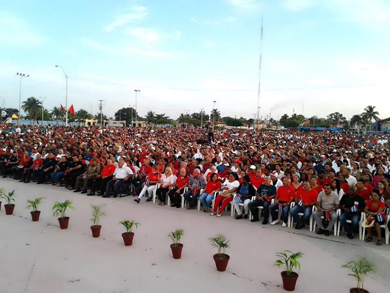 Cienfuegos por el 26 de Julio actúa como país