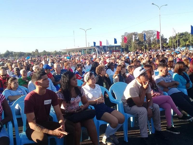 Celebra La Habana acto provincial por Aniversario 61 del Triunfo de la Revolución