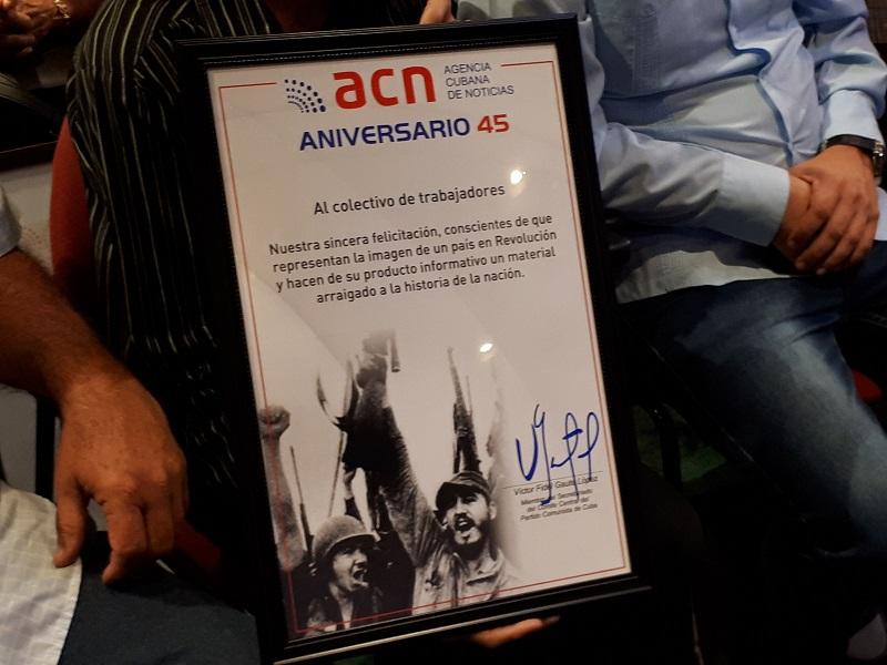 ACN: 45 años como ventana de Cuba al mundo