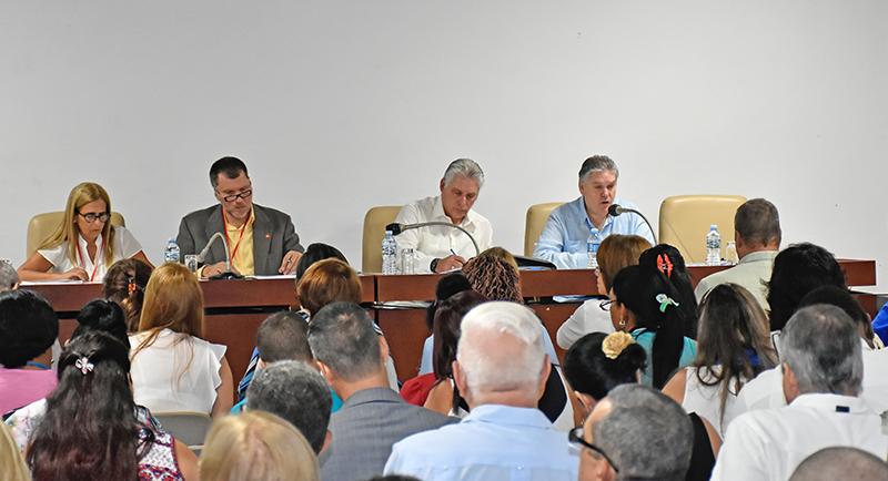 Cuba President Describes Parliamentary Session as Historic