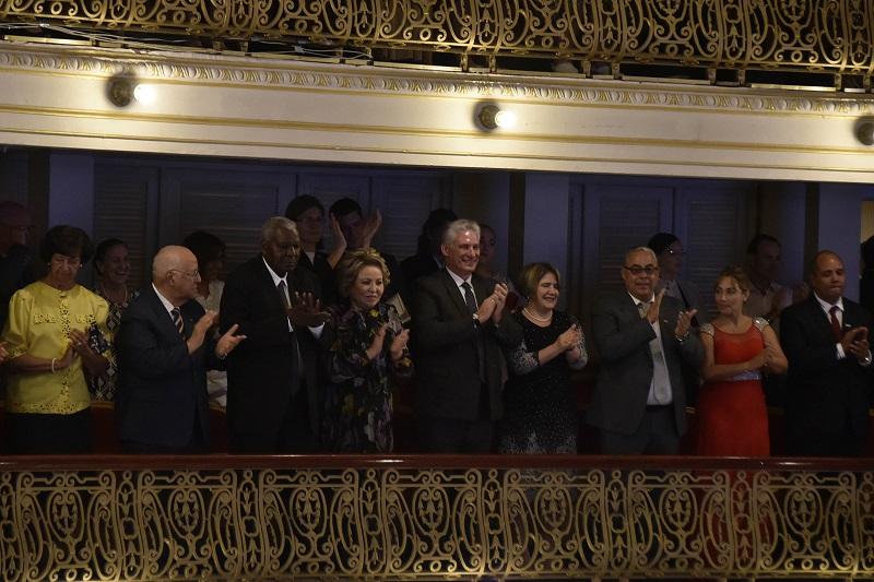 Cuban President praises ballet gala of Russian artists in Havana