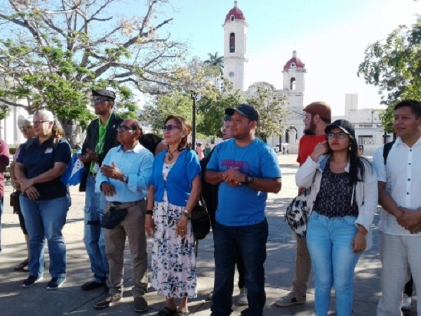 En Cienfuegos Primera Brigada Centroamericana de Trabajo Voluntario