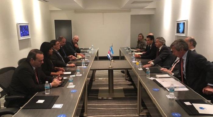 Desarrolla Canciller cubano intensa agenda en México