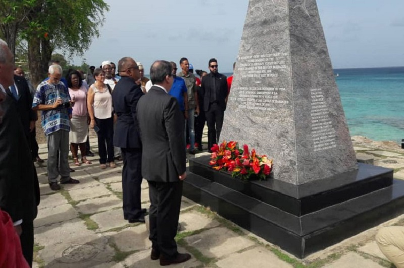 Cuban FM Pays Homage to the Attack Victims in Barbados