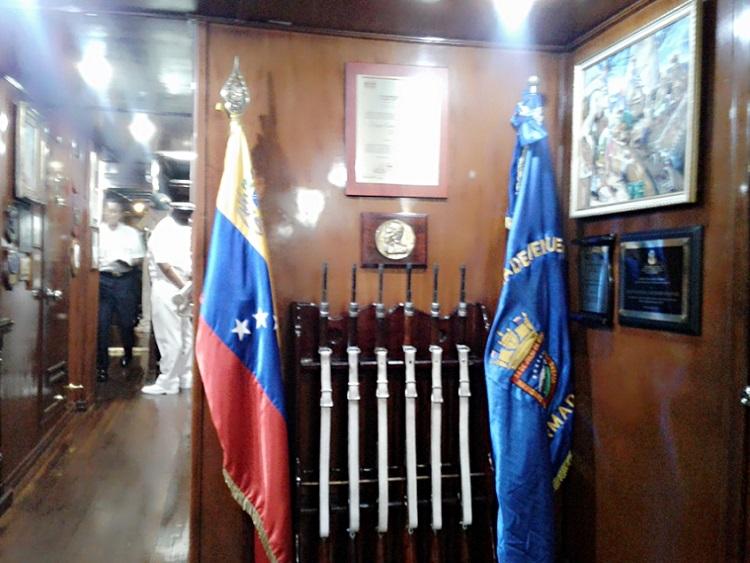 Buque Escuela venezolano Simón Bolívar zarpó del puerto de Cienfuegos