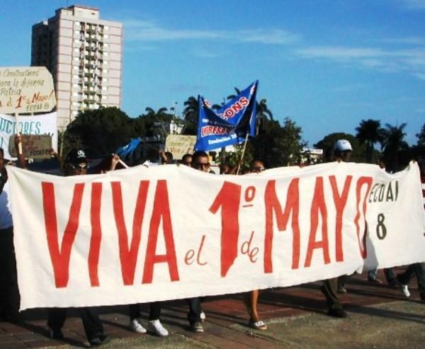 Del Congreso Obrero al Primero de Mayo