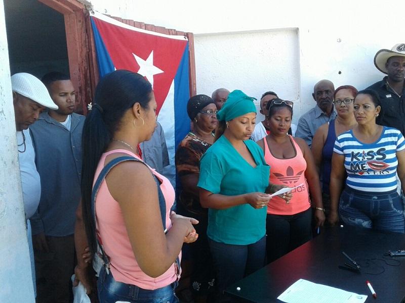 Solidarizados campesinos de Guantánamo con la causa de Venezuela
