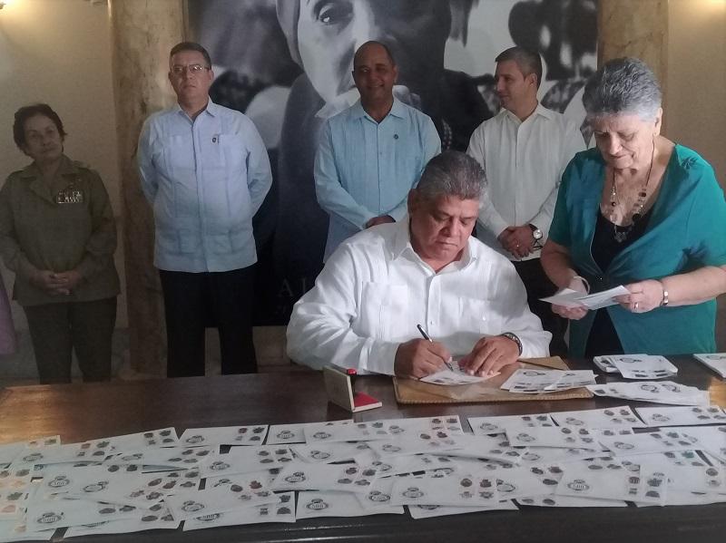 Nuevo Sello Postal por el aniversario 500 de la fundación de La Habana