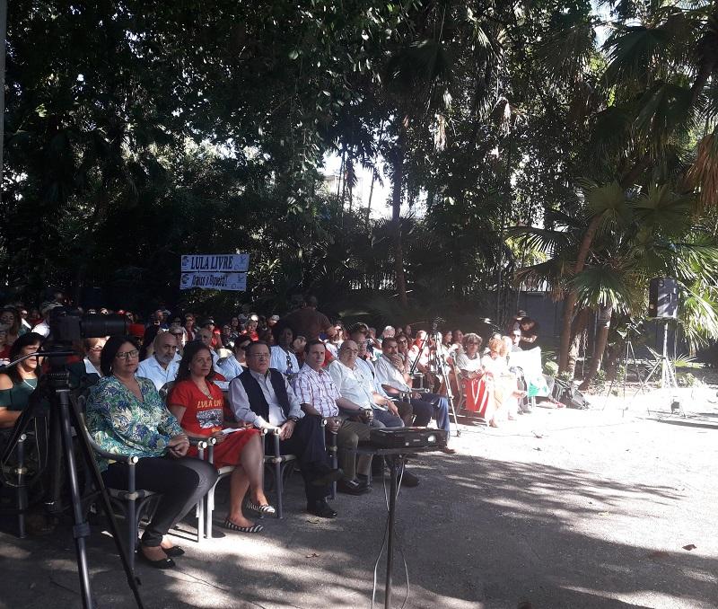 Reconoce Caravana Brasileña el papel de los médicos cubanos