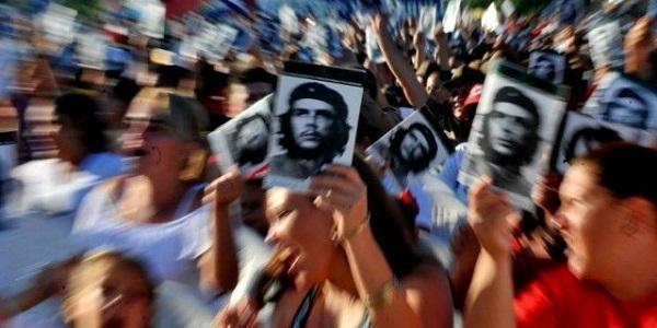 La personalidad histórica del Che ha devenido paradigma para los jóvenes cubanos.