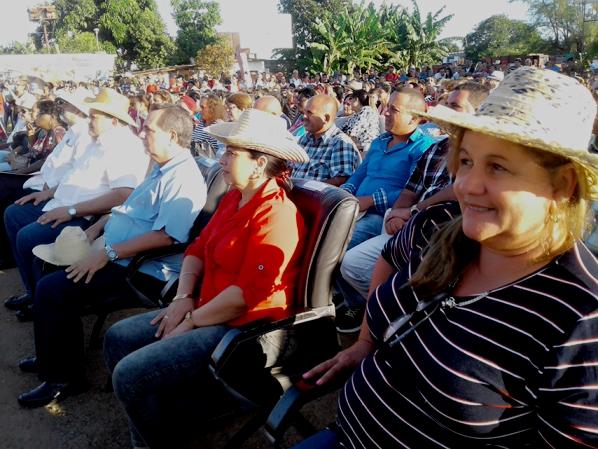 Celebran en Cienfuegos acto por el Día Internacional de las Mujeres Rurales y de la Alimentación