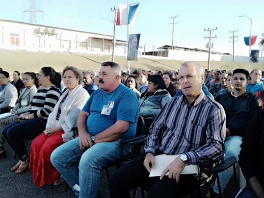 En Audio: Inicia en Cienfuegos Jornada Nacional por Día del Trabajador Eléctrico