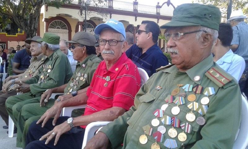 Ratifican combatientes tuneros apoyo incondicional a la Revolución