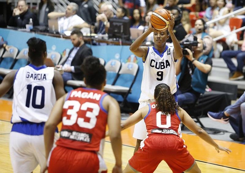 Cuba ante campeonas canadienses en Fiba Americup 2019