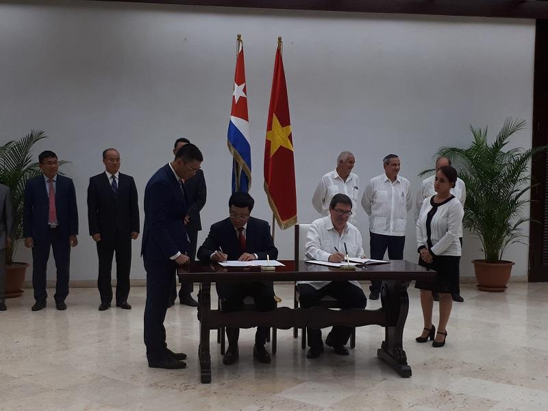 Fortalecen Cuba y Vietnam relaciones bilaterales