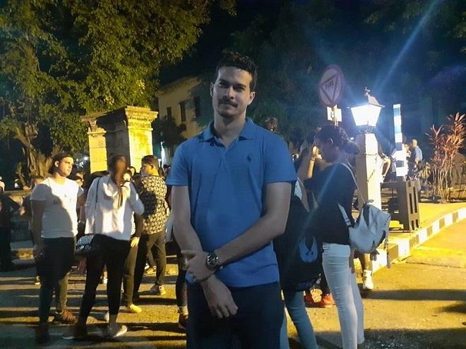 El compromiso de la juventud universitaria con Fidel