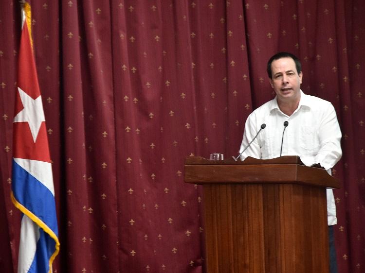 Minister of Public Health of Cuba, José Ángel Portal Miranda