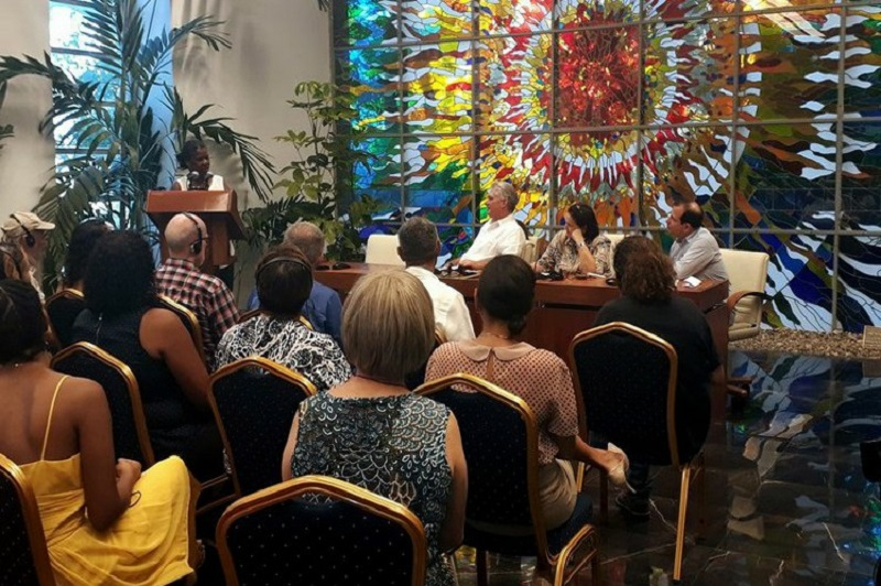 Cuban President Welcomes Pastors for Peace