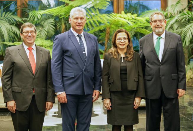 Recibió Díaz-Canel Cartas Credenciales de nuevos embajadores en Cuba