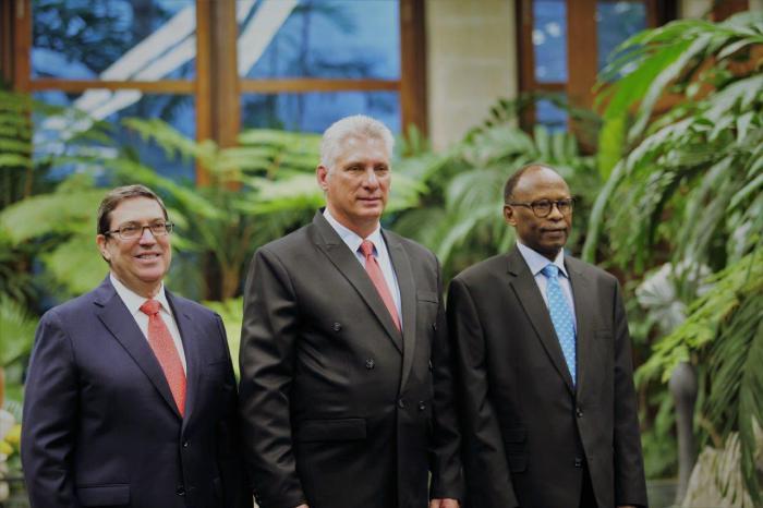 Recibió Díaz-Canel las Cartas Credenciales de nuevos embajadores