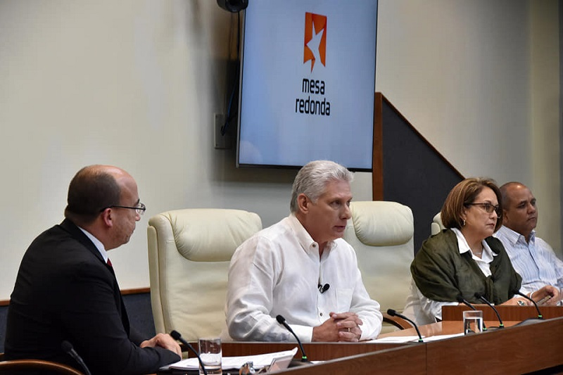 Esta tarde, comparecencia especial del presidente Díaz-Canel en la Mesa Redonda