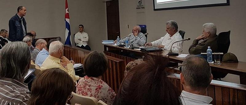En Audio: Díaz-Canel, confiamos en el potencial aportador para el país