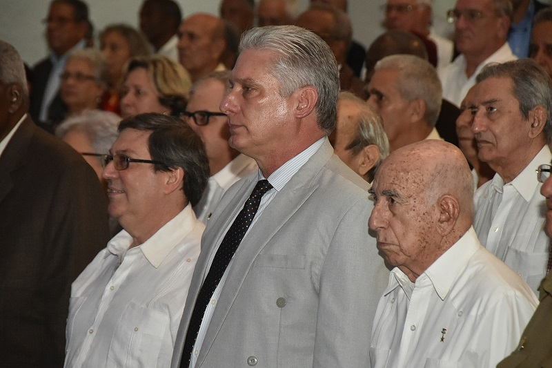 Cuban President Miguel Díaz-Canel congratulated the Ministry of Foreign Affairs (MINREX) on the occasion of the 60th anniversary of its creation.