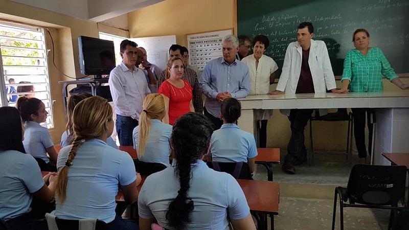 """Díaz-Canel en Las Tunas, """"balcón del oriente cubano"""""""
