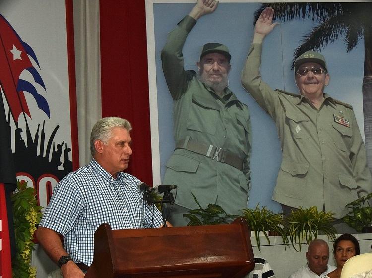 Díaz-Canel: Villa Clara, a trabajar porque Somos Cuba