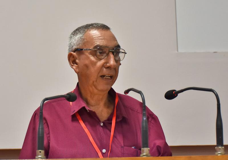 Elvis Rodríguez Rodríguez, presidente del Comité Organizador del Simposio.