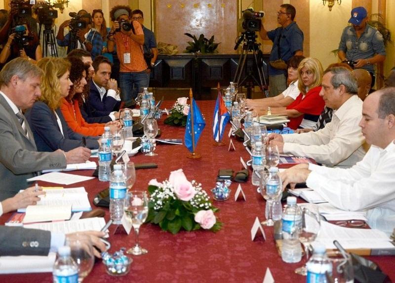 Cuba-UE: Diálogo sobre Medidas Coercitivas Unilaterales (+Audio)