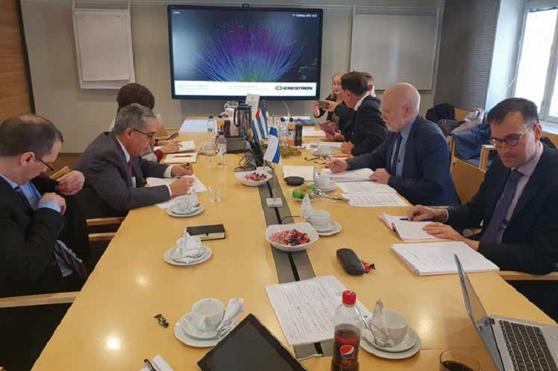 Deputy Foreign Ministers of Cuba and Finland hold official talks