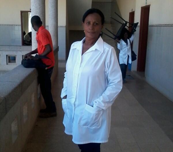 Maritza, madre y enfermera modelo