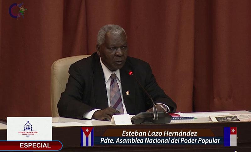 Sesiona en Plenario Asamblea Nacional de Cuba